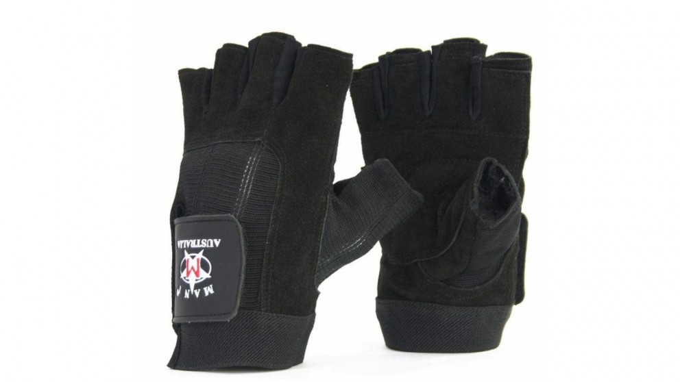 Mani Sports Leather Suede Trainer Gloves