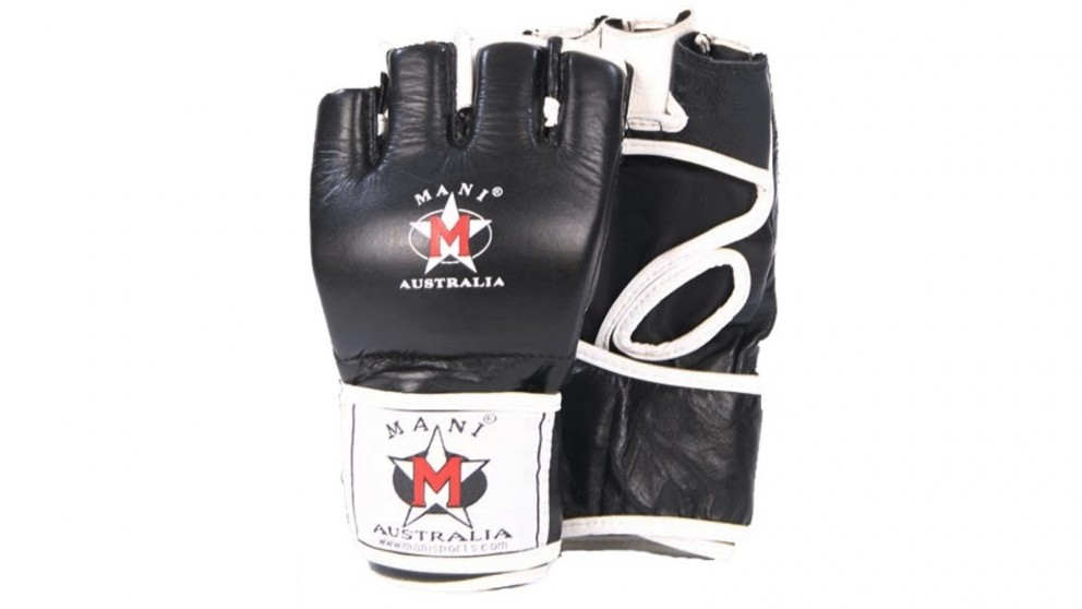 Mani Sports MMA Leather Grappling Gloves