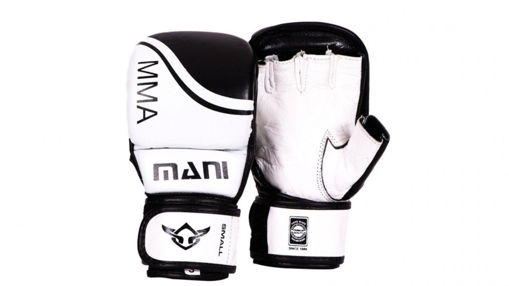 Mani Sports MMA Leather Grappling Sparring Gloves