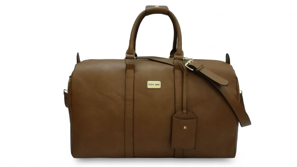 Manila Overnight Duffel Travel Bag - Tan