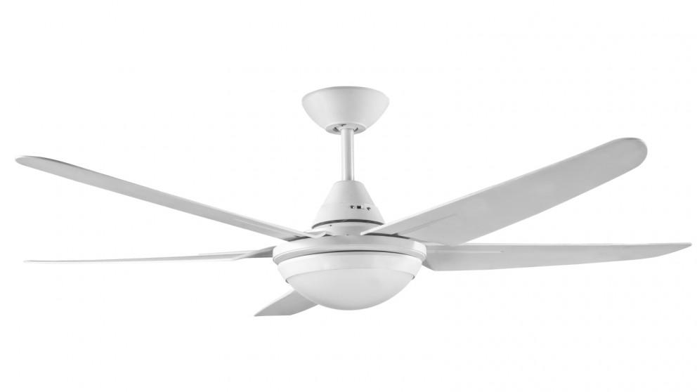 Ventair Mariah 132cm 5 Blade Ceiling Fan with Light - White