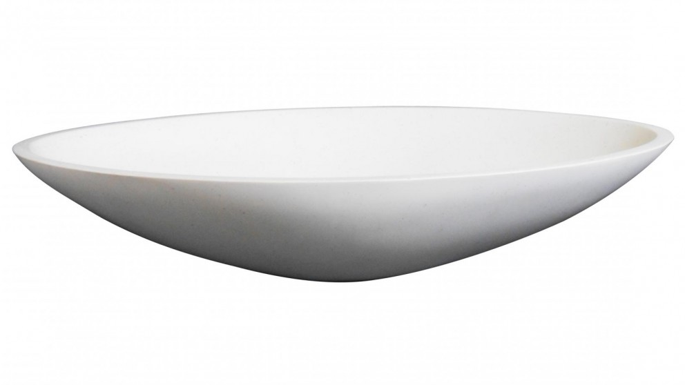 Ledin Marco Solid Surface Basin - Snow
