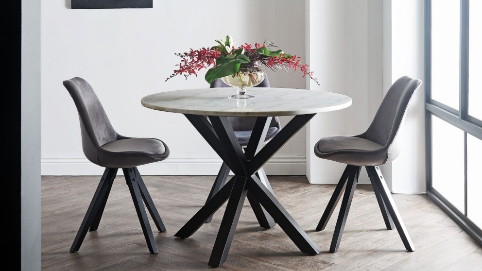 Cool Buy Martini Round Dining Table Harvey Norman Au Interior Design Ideas Inesswwsoteloinfo