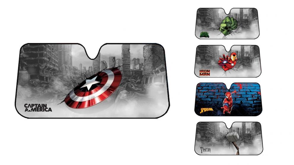 Avengers Licensed Sunshade