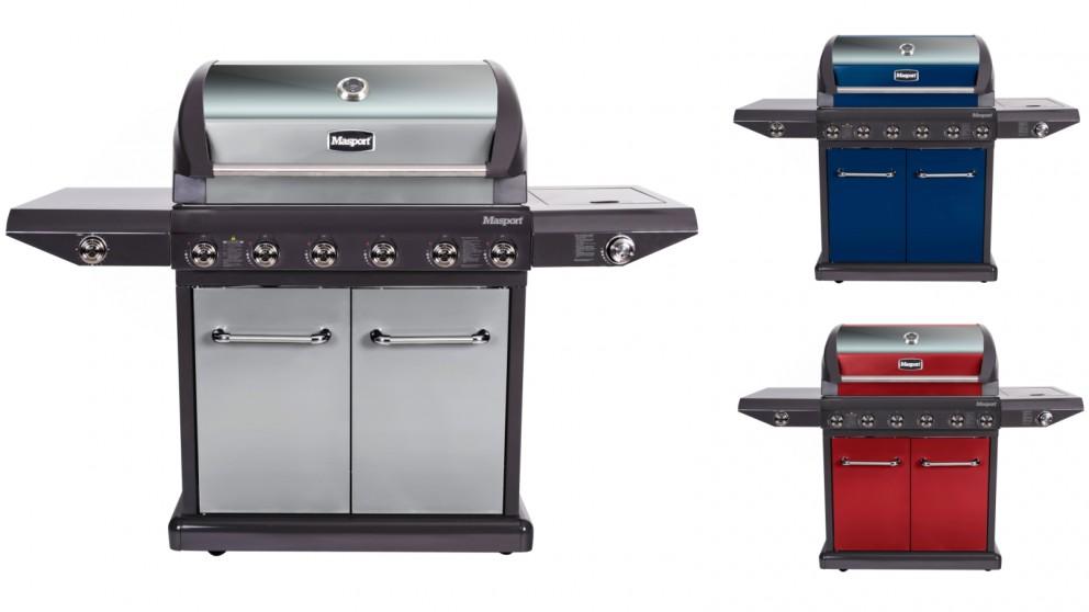 Masport Mighty 6-Burner BBQ