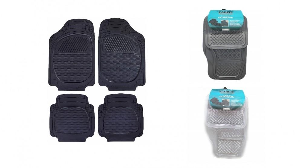 Carfit Guardian Rubber Car Floor Mat 4 Piece Set