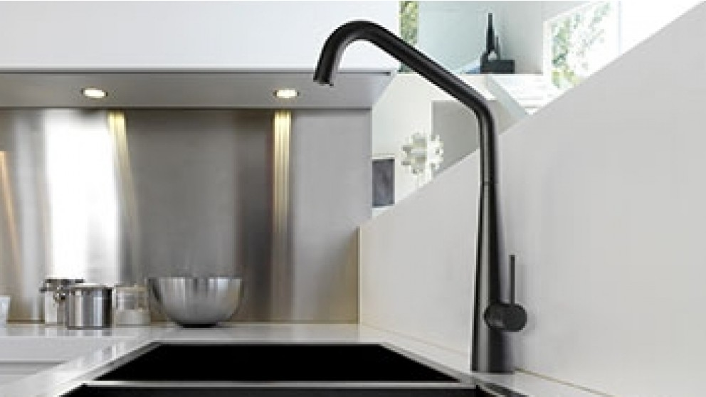 Linsol Elias Matte Black Kitchen Mixer - Taps - Sinks & Taps ...