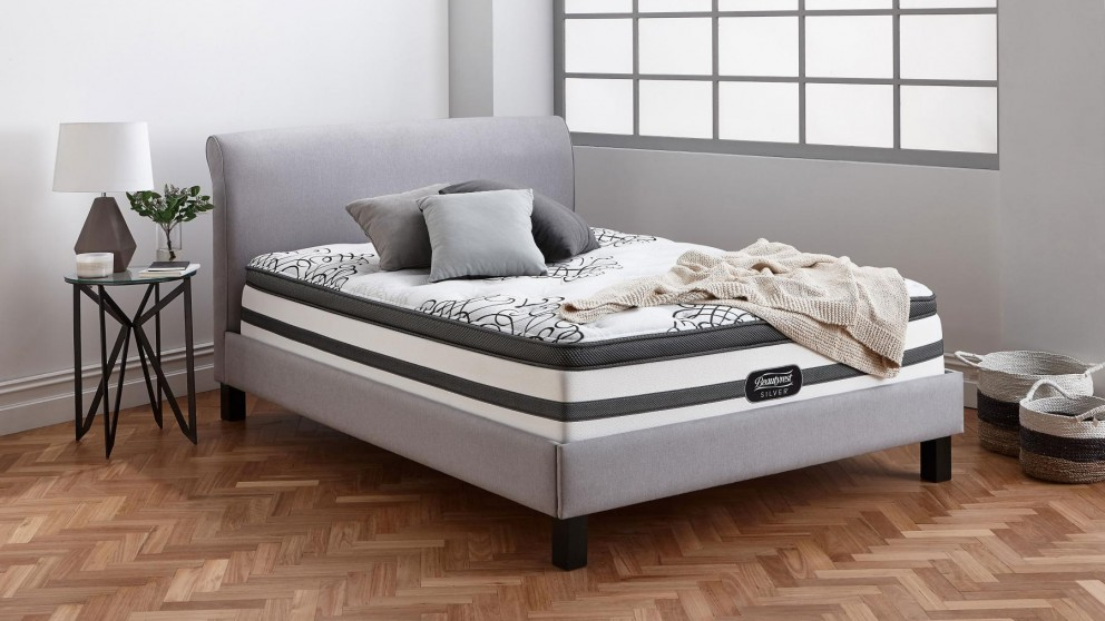 Beautyrest Silver Naples Plush Long Single Mattress