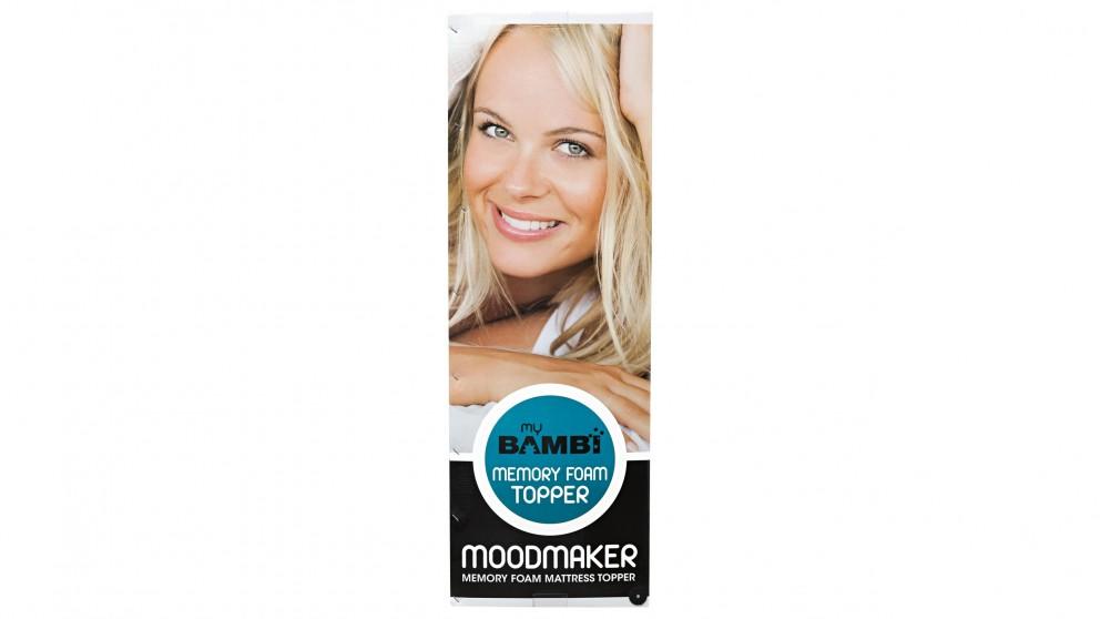 Bambi Moodmaker Memory Foam Single Mattress Topper