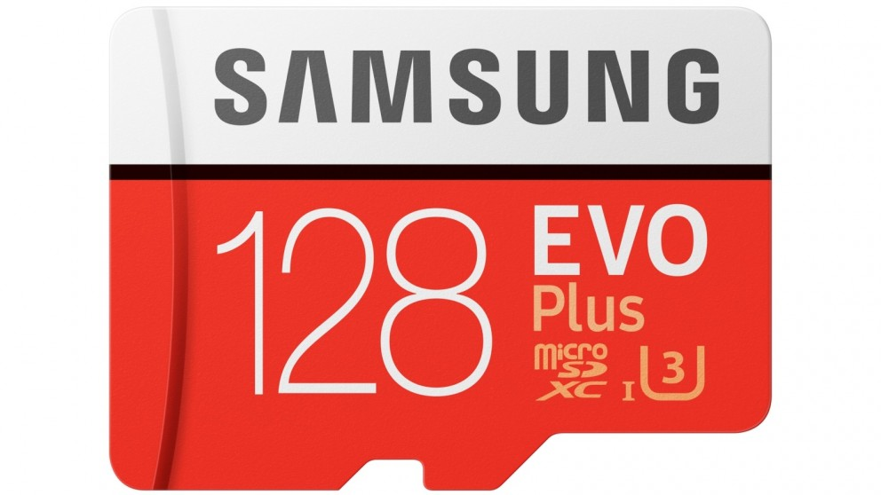 Samsung Evo Plus 128GB Micro SDXC Memory Card with SD Adapter