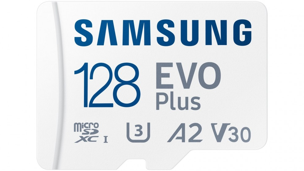 Samsung EVO Plus 128GB Micro SD Card with SD Adapter