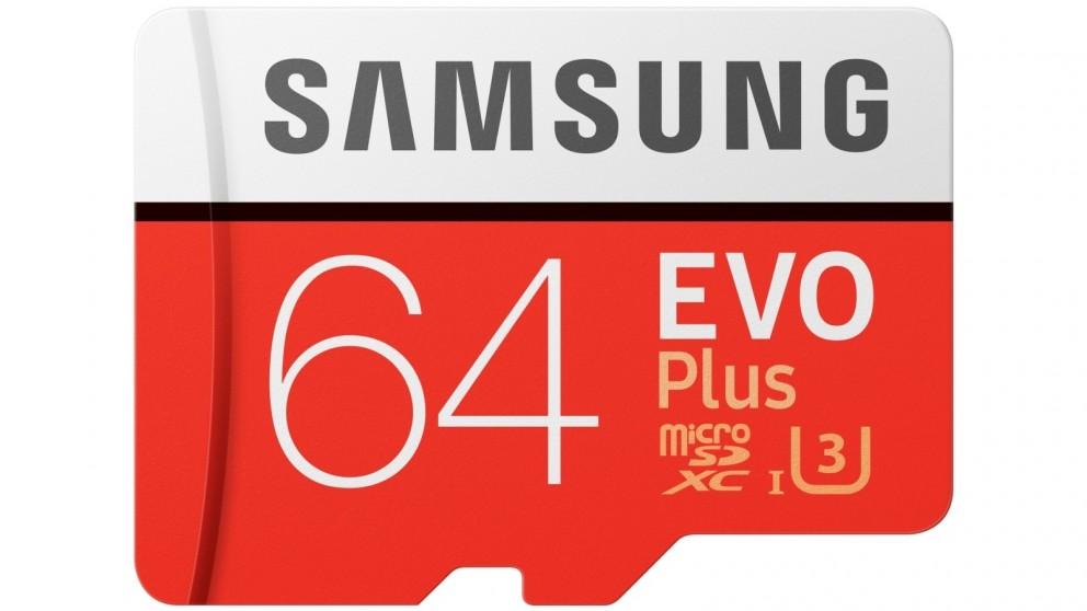 Samsung Evo Plus Micro SD Memory Card with SD Adapter