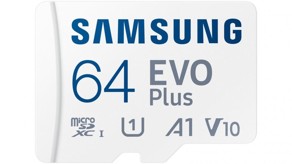 Samsung EVO Plus 64GB Micro SD Card with SD Adapter