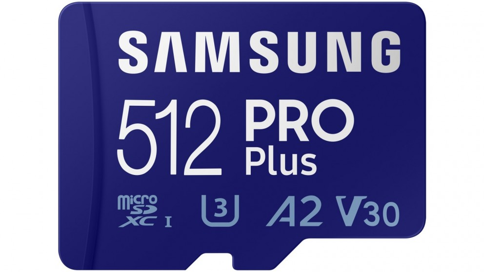 Samsung PRO Plus 512GB Micro SD Card with SD Adapter