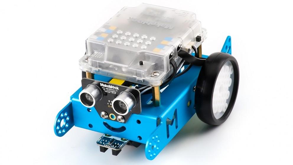 Makeblock Bluetooth Version MBot V1.1 Educational Robot Kit - Blue
