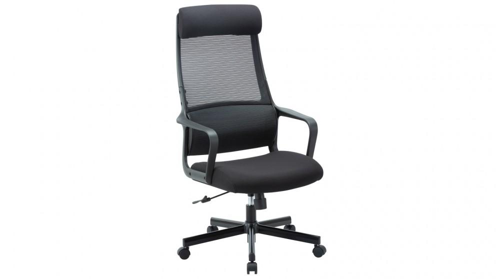 Huali Jair Office Chair - Black