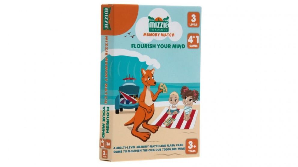 Mizzie The Kangaroo Memory Match Cards