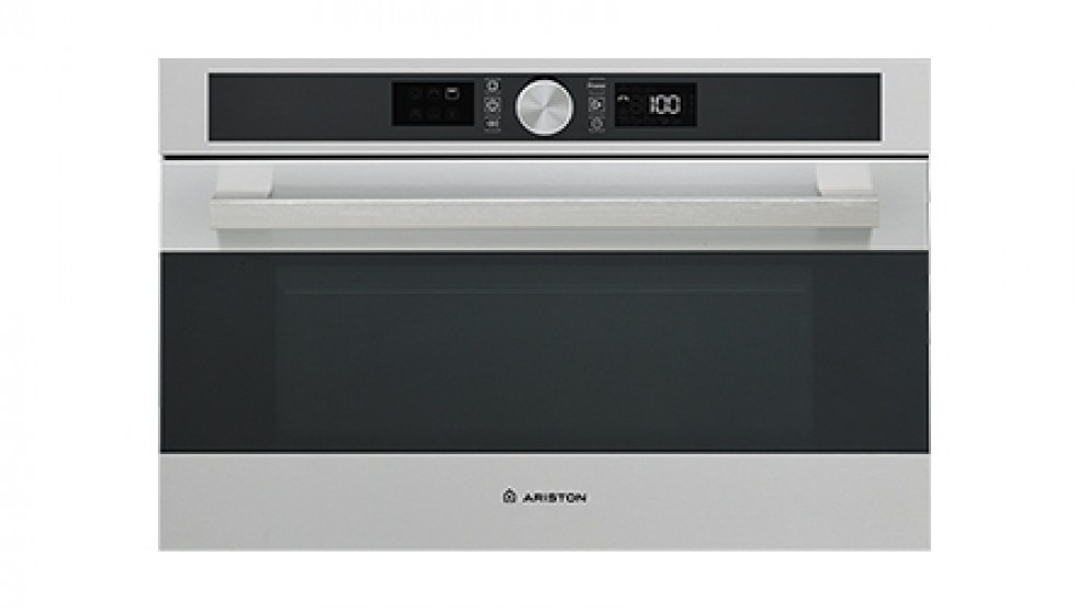 Ariston 60cm Stainless Steel Bulit in Microwave and Grill Oven
