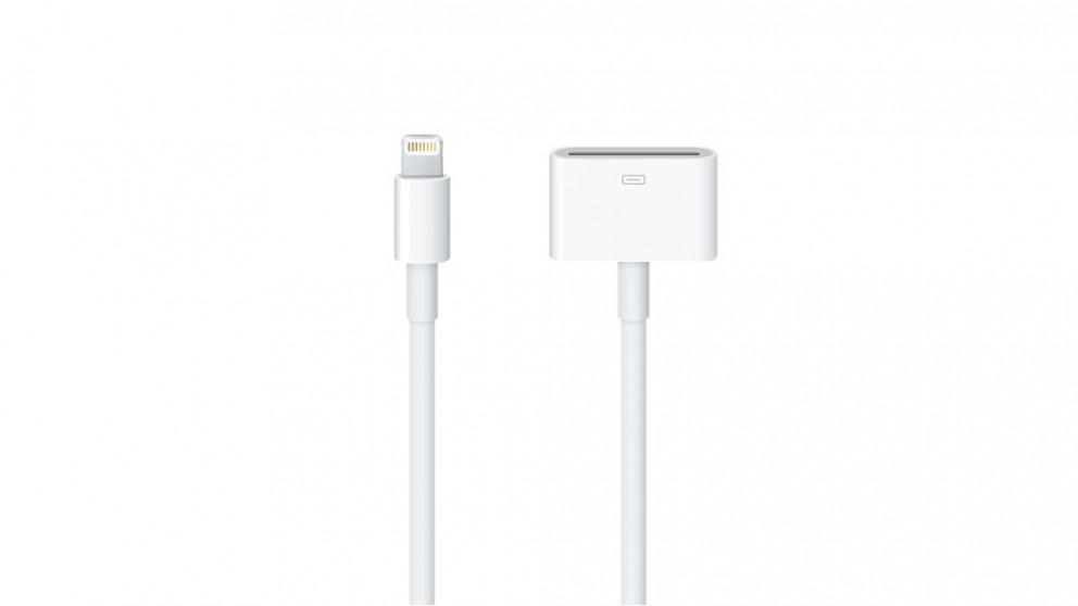 Buy Apple 0 2m Lightning To 30 Pin Adapter Harvey Norman Au
