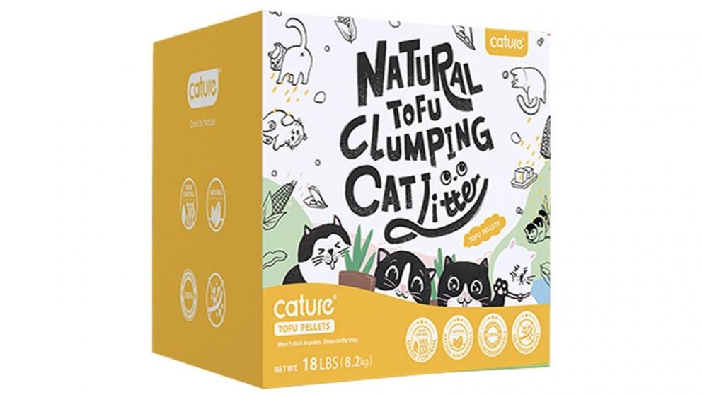 Cature 20L Tofu Cat Litter - Milky