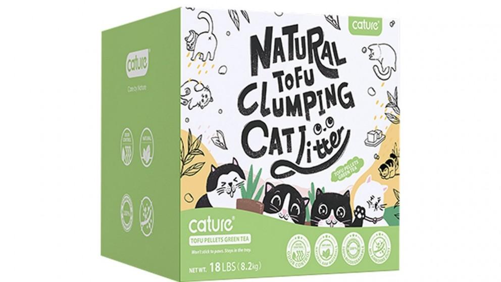 Cature 20L Tofu Cat Litter - Green Tea