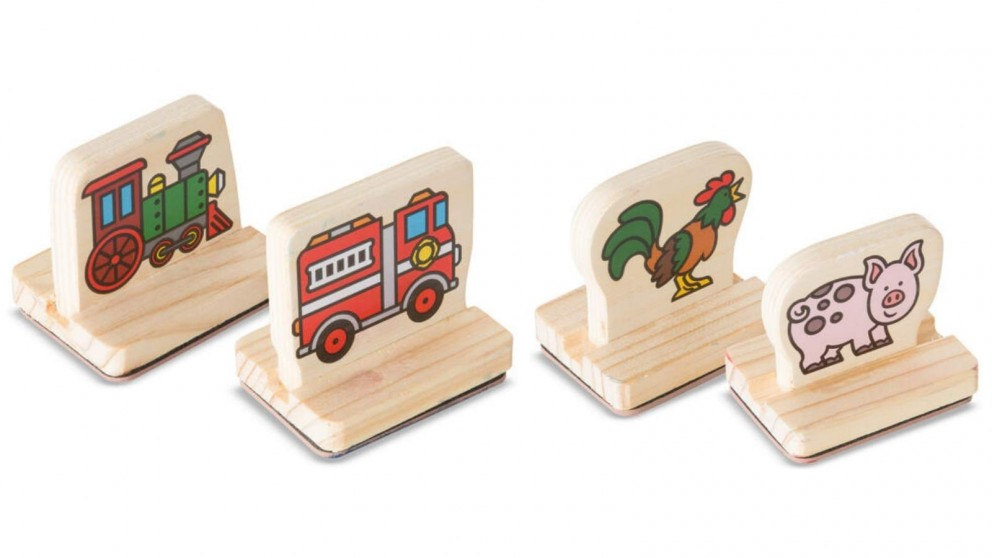 Melissa and Doug My First Wooden Stamp Set