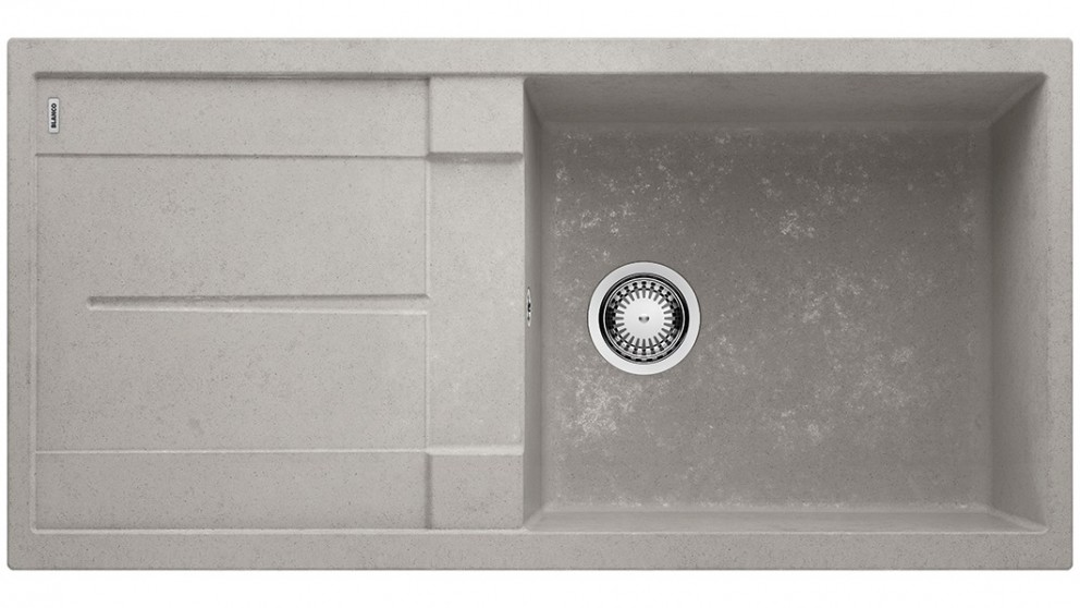Blanco Metra 6XL 6 Single Bowl Inset Sink with Drainer and Overflow - Concrete