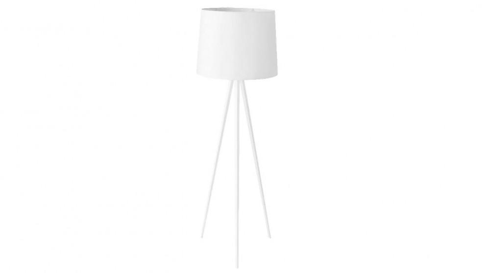 Buy oslo floor lamp white harvey norman au oslo floor lamp white aloadofball Gallery