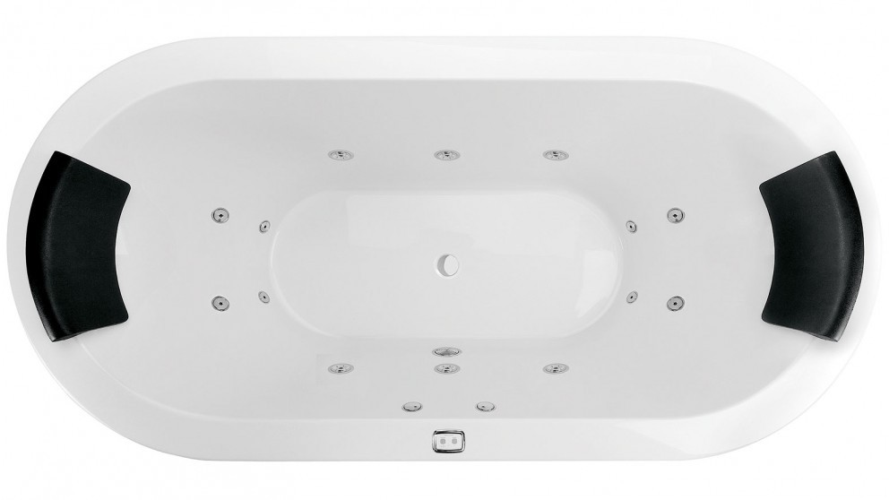 Decina Spa Bath - Mintori 14 Jet Freestanding Spa - Harvey Norman