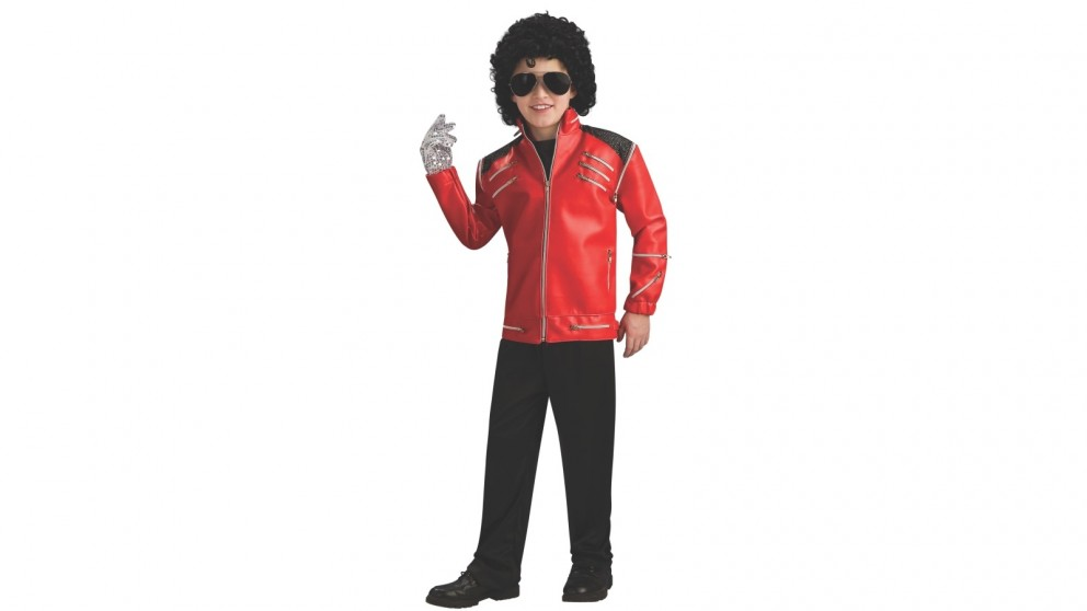 Michael Jackson Deluxe Beat It Red Jacket Child Costume