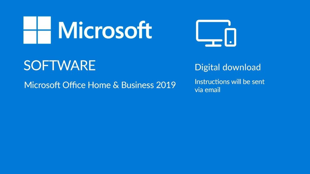 Microsoft Office Home & Business 2019 Digital Download