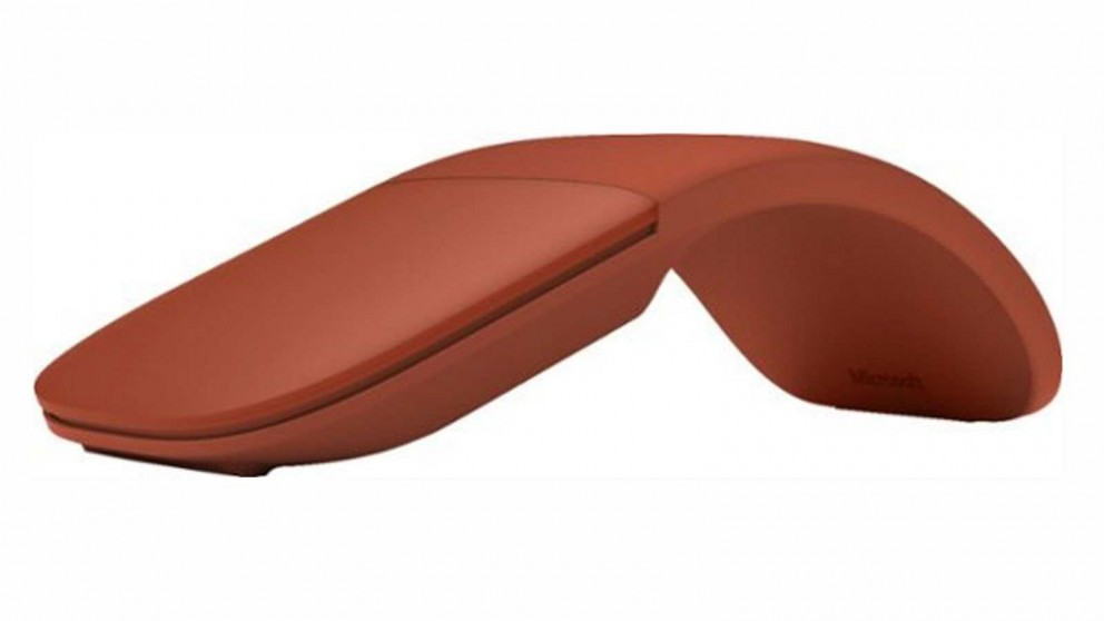 Microsoft Surface Arc Bluetooth Mouse - Poppy Red