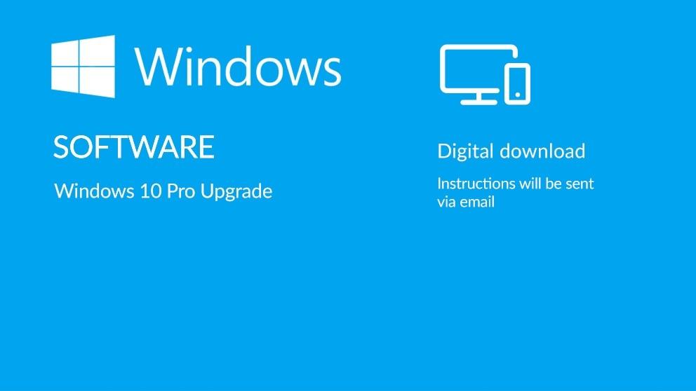 8396468ba09 Microsoft Windows 10 Pro Upgrade Digital Download