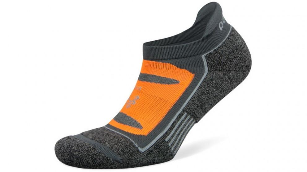 Balega Blister Resist No Show Mid Grey Socks - Medium