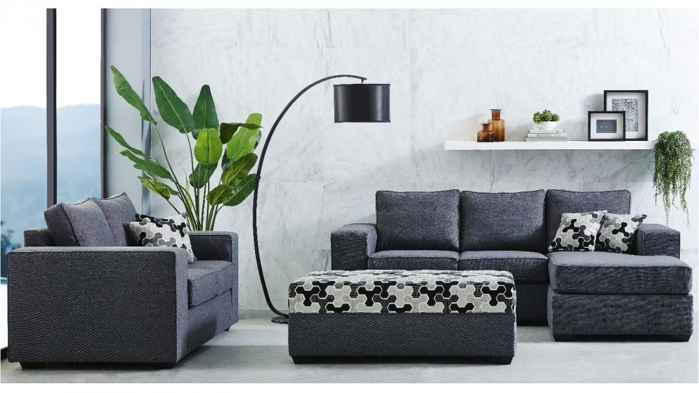 Midtown 3 Piece Fabric Lounge Suite