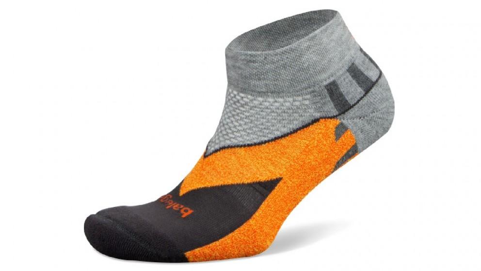 Balega Enduro V-Tech Low Cut Mid Grey/Carbon Socks