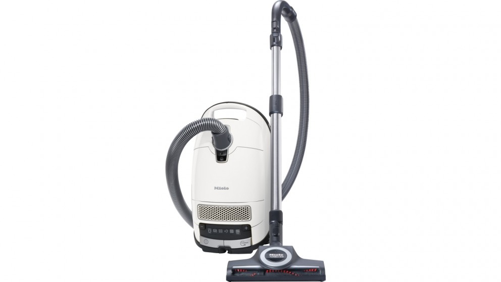 Miele Complete C3 Turbo Vacuum Cleaner - Lotus White