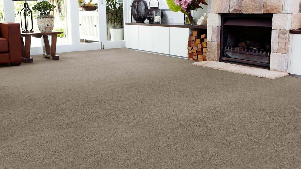 SmartStrand Forever Clean Chic - Mineral Brown Carpet Flooring