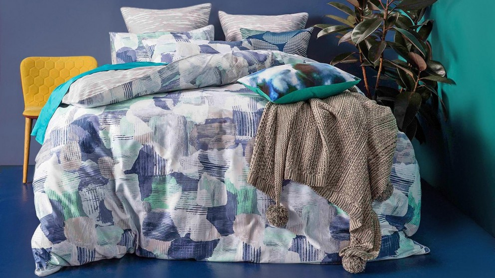 Mineral Queen Quilt Cover Set
