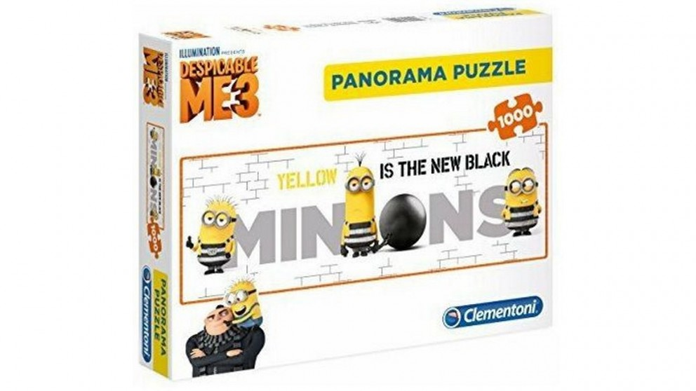 Minions Panorama 1000 Pieces Puzzle