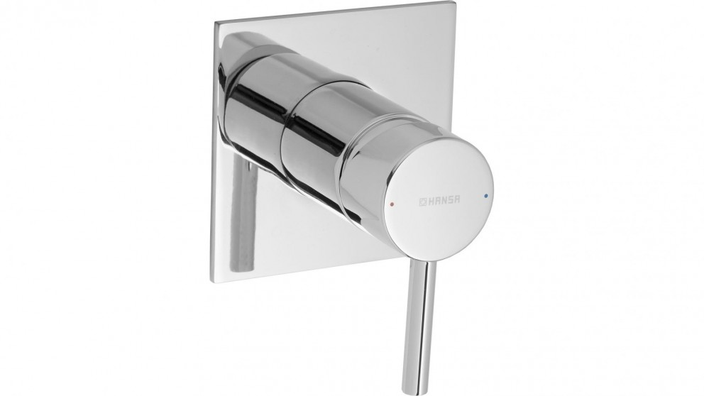 Hansa Vantis Quad 100mm Shower or Bath Mixer with In-Wall Body
