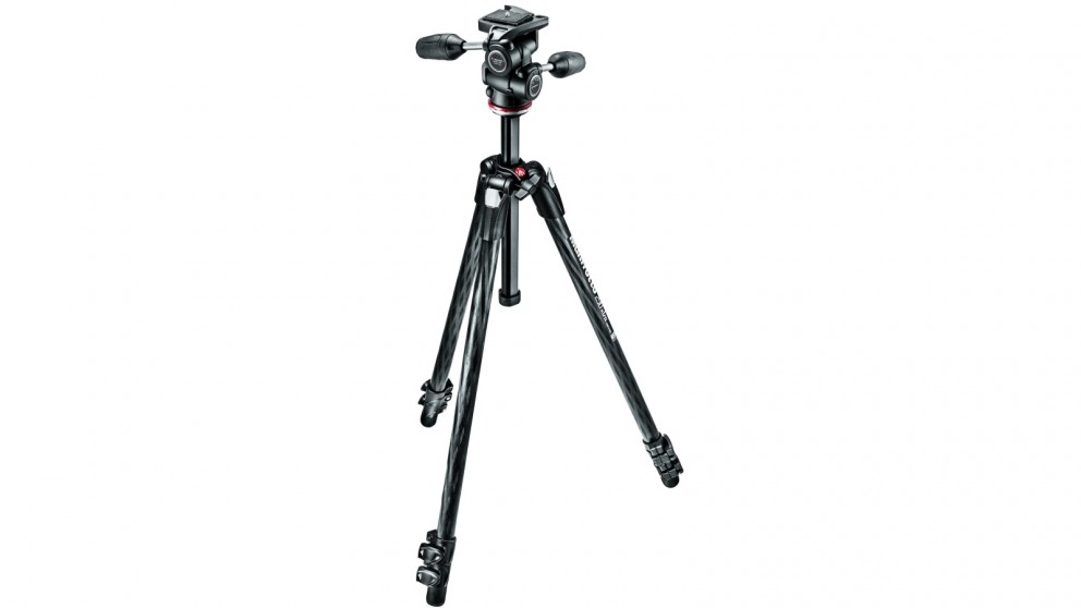 Manfrotto 290 Xtra Carbon 3 Section Tripod
