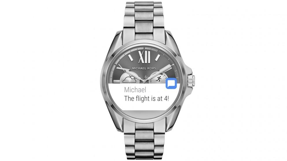 Michael Kors Access Ladies Bradshaw Smart Watch - Silver