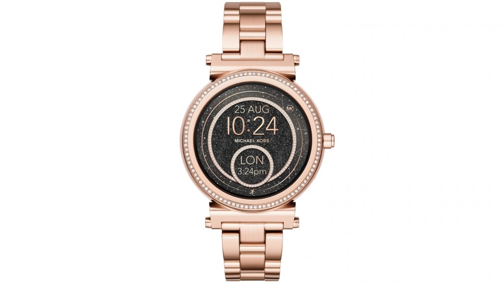 Buy Michael Kors Access Sofie Smart Watch Rose Gold Harvey Norman Au