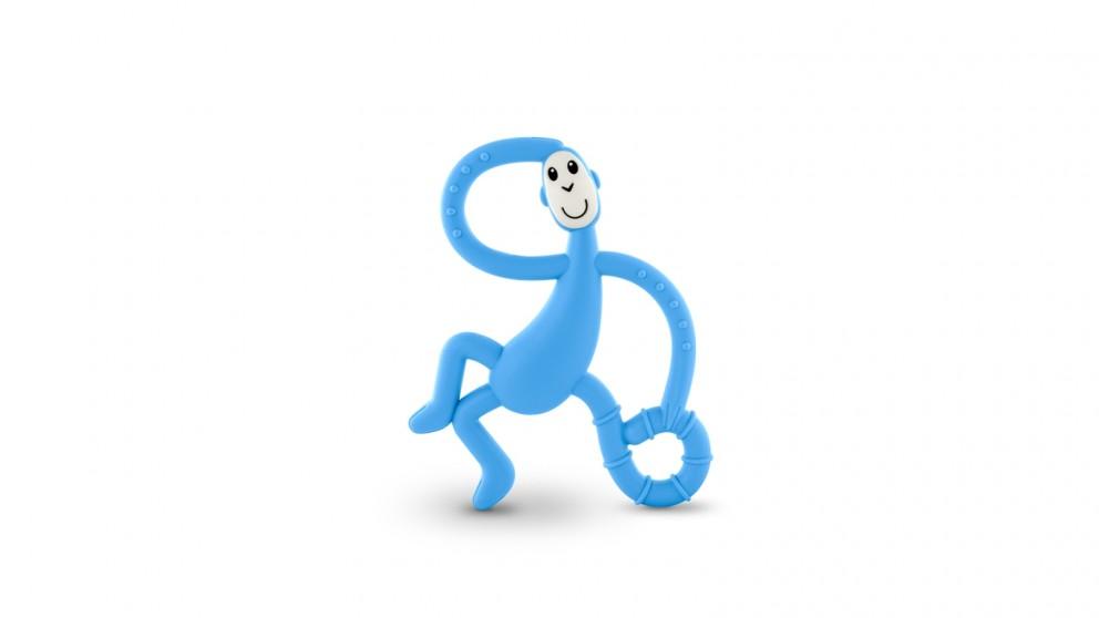 Matchstick Monkey Dancing Monkey Teether - Baby Blue