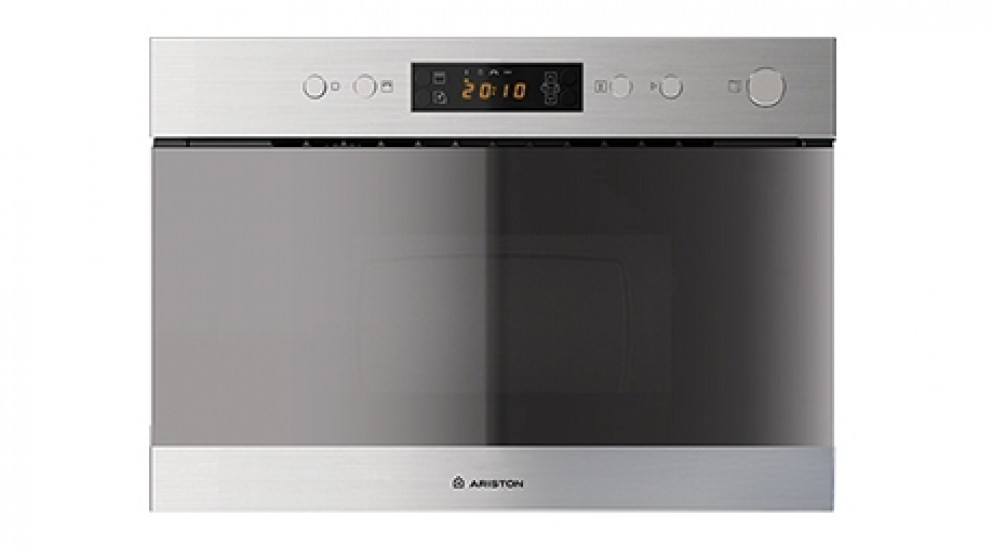 Ariston 600mm Stainless Steel Built In Microwave and Grill Oven