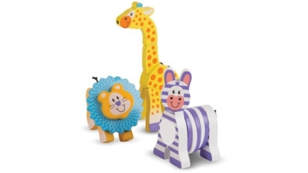 Melissa and Doug First Play Safari Grasping Toy