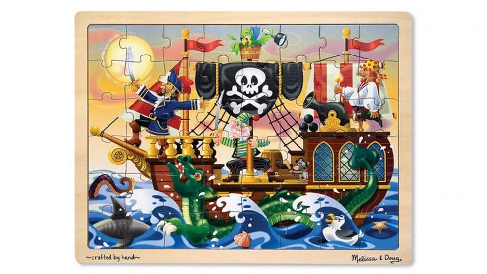 Melissa and Doug Pirate Adventure 48 Piece Jigsaw Puzzle