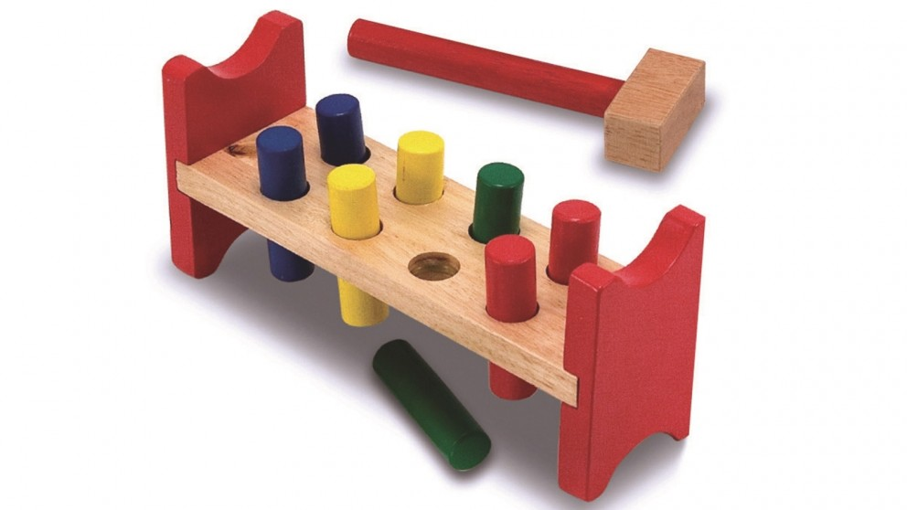 Melissa & Doug Pound-A-Peg Block