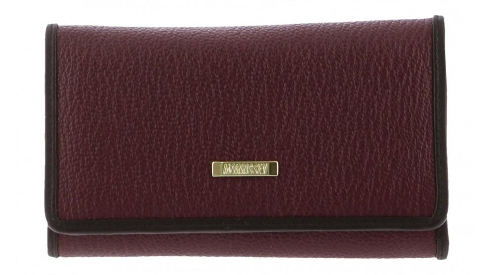 Morrissey Ladies Italian Leather Wallet - Wine